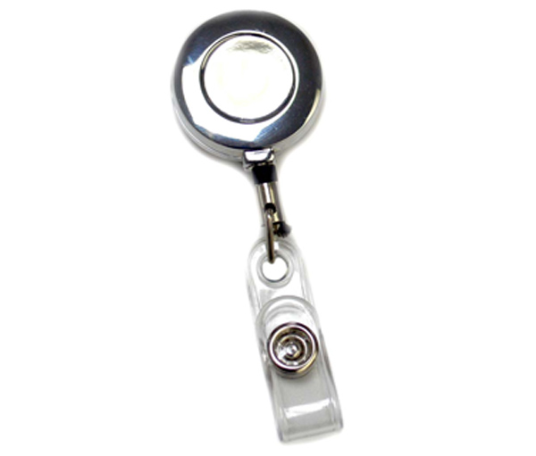 Badge Reels Round Metal