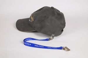 Cap strap lanyard