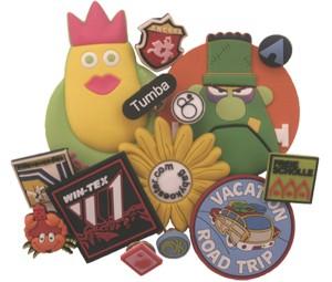 PVC pin badges
