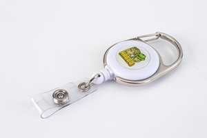 badge reels - aribiner