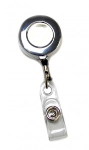 badge reel_metal round