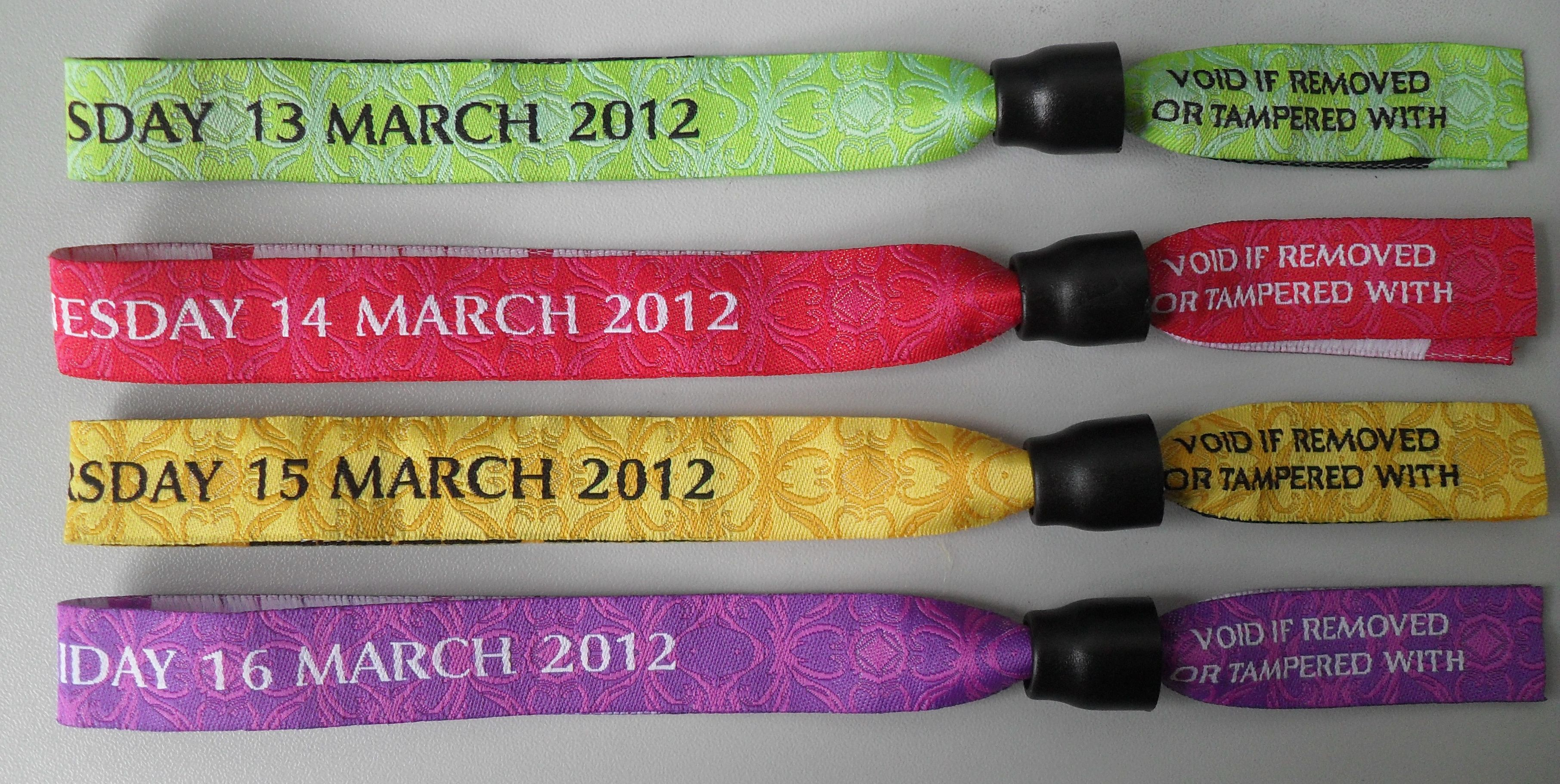 Wristbands - fabricbands