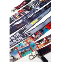 Lanyards with a full colour dye sublimated print