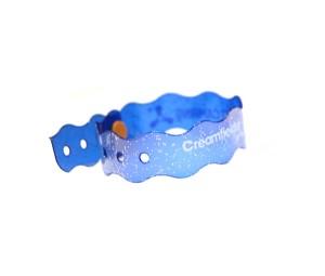 glitterbands - vinyl wristbands