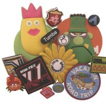 Pin Badges PVC