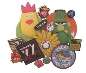 Pin Badges PVC