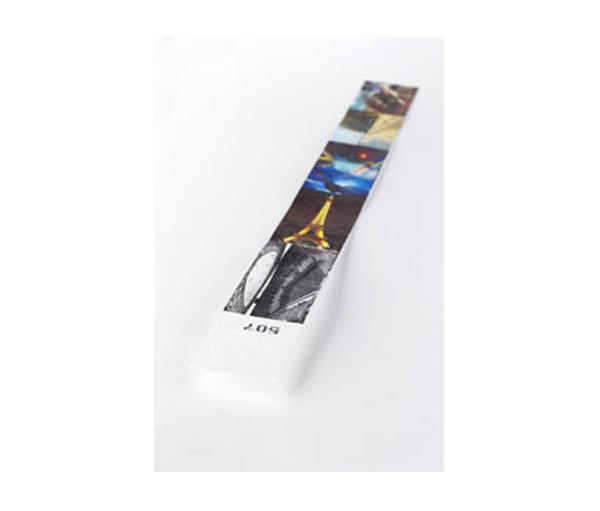 Tyvek wristbands - access control wristband with a full colour print