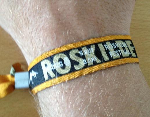 Roskilde Festival Wristband