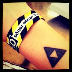 sonar festival wristband